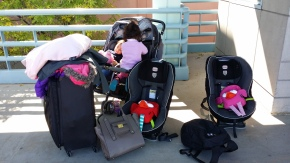 How to Pack Light when Traveling with Twins